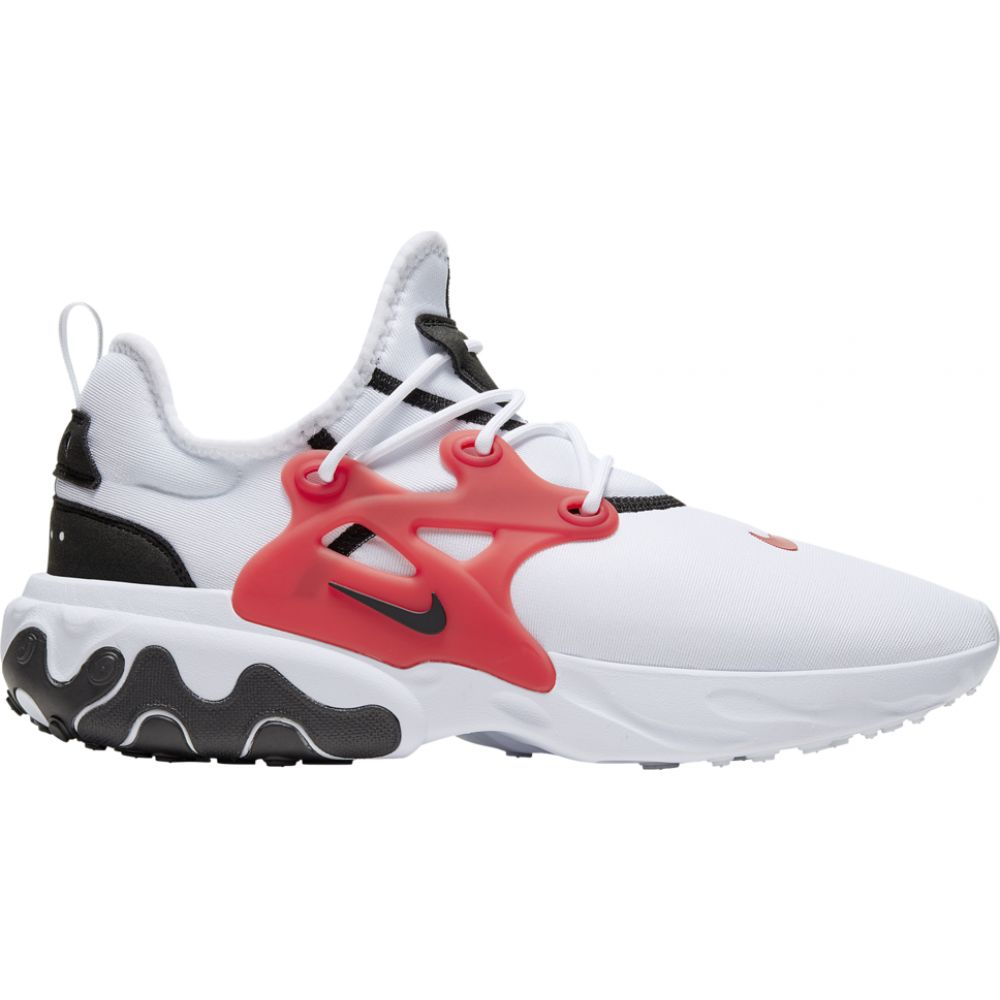 ナイキ Nike メンズ ランニング・ウォーキング シューズ・靴【react presto】White/Black/University Red