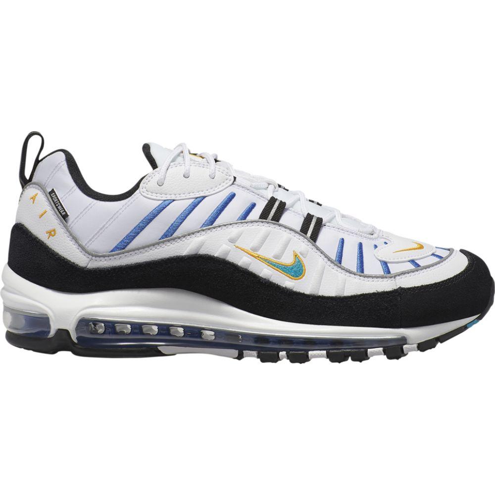 ナイキ Nike メンズ ランニング・ウォーキング シューズ・靴【air max 98】White/Teal Nebula/University Gold/Black Premium