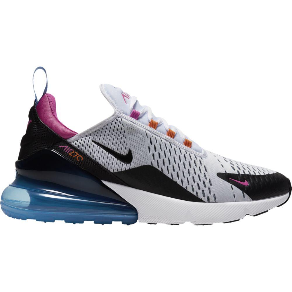 ナイキ Nike メンズ ランニング・ウォーキング シューズ・靴【air max 270】White/Black/Magma Orange/Fuchsia