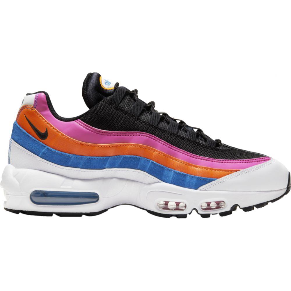 ナイキ Nike メンズ ランニング・ウォーキング シューズ・靴【air max 95】White/Black/Magma Orange/Active Fuchsia
