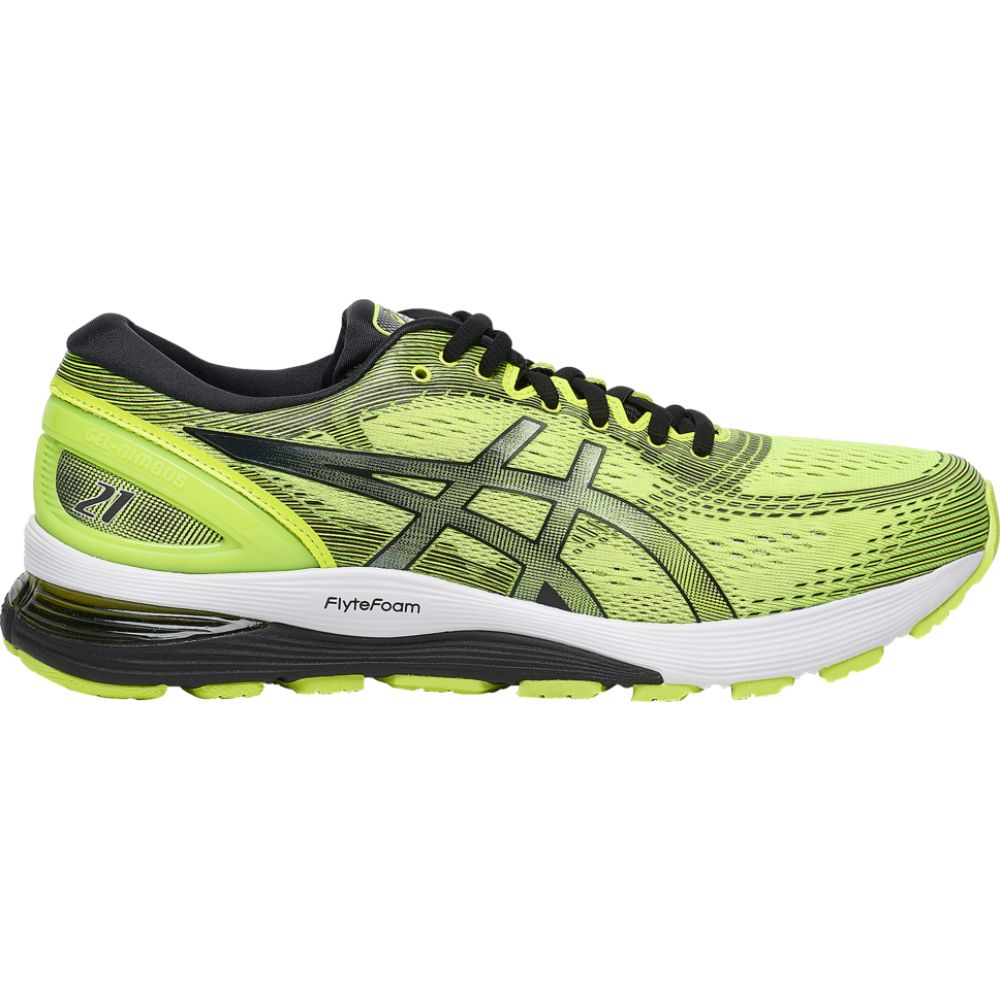 アシックス ASICS メンズ ランニング・ウォーキング シューズ・靴【gel-nimbus 21】Safety Yellow/Black