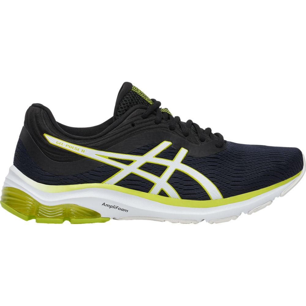 アシックス ASICS メンズ ランニング・ウォーキング シューズ・靴【gel-pulse 11】Black/Neon Lime