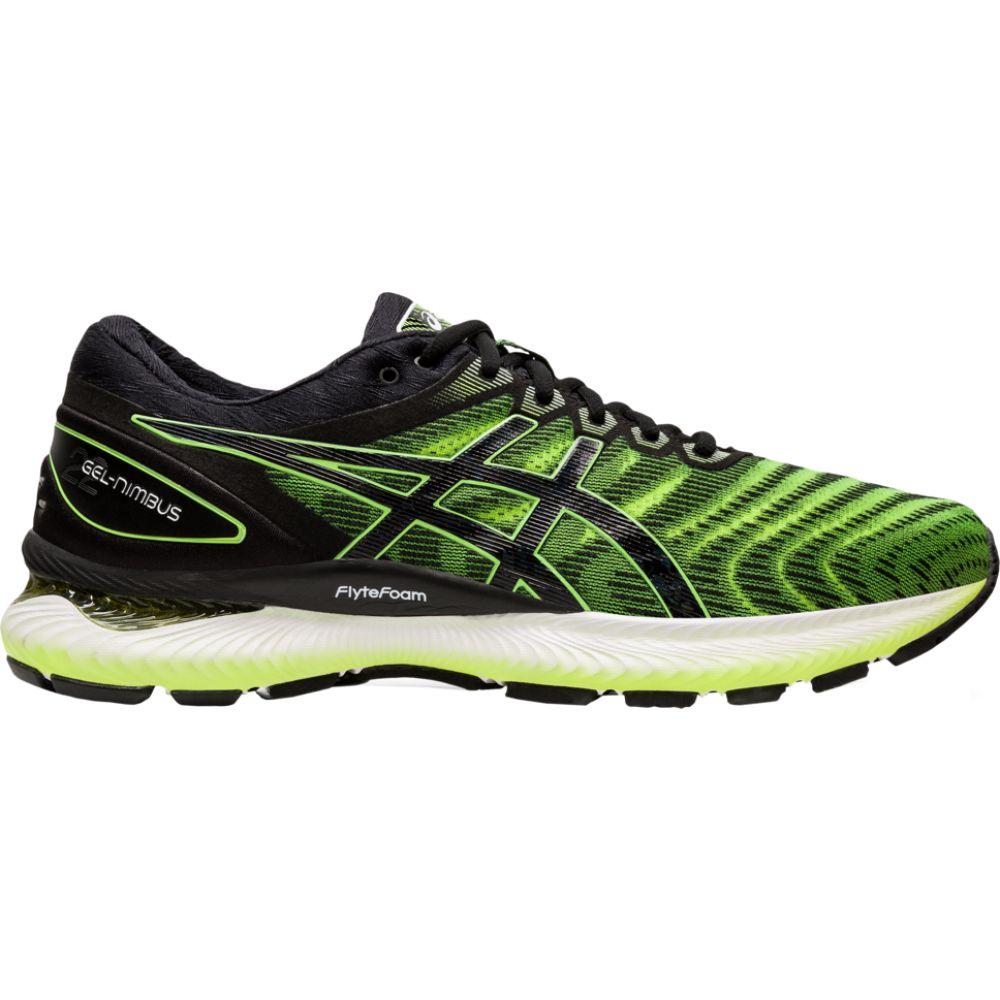 アシックス ASICS メンズ ランニング・ウォーキング シューズ・靴【gel-nimbus 22】Safety Yellow/Black