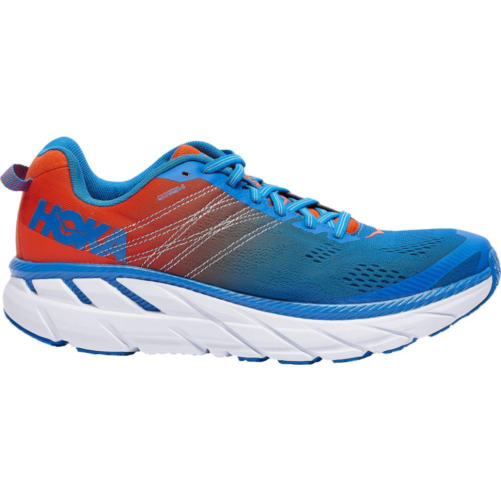ホカ オネオネ HOKA ONE ONE メンズ ランニング・ウォーキング シューズ・靴【clifton 6】Mandarin Red/Imperial Blue