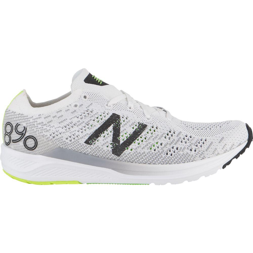 ニューバランス New Balance メンズ ランニング・ウォーキング シューズ・靴【890 v7】White/Black/Green