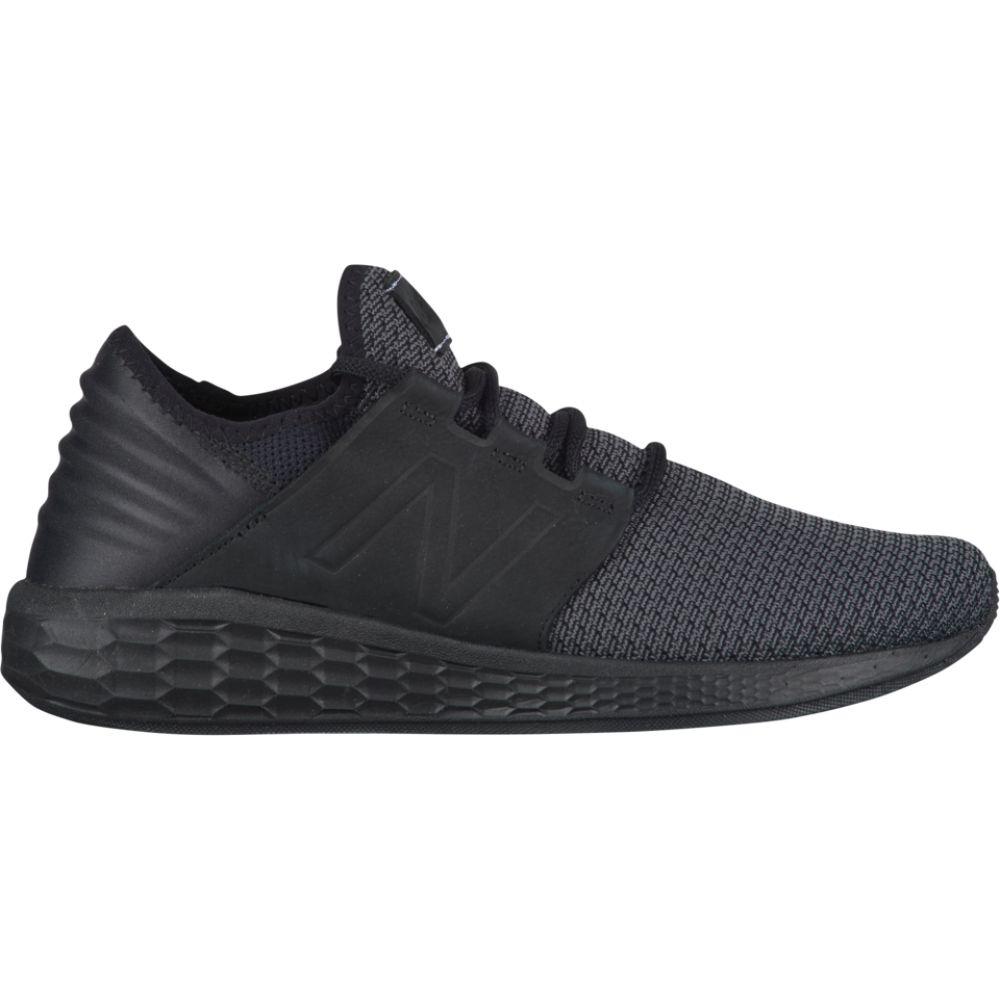 ニューバランス New Balance メンズ ランニング・ウォーキング シューズ・靴【fresh foam cruz v2 nubuck】Black/Magnet Nubuck
