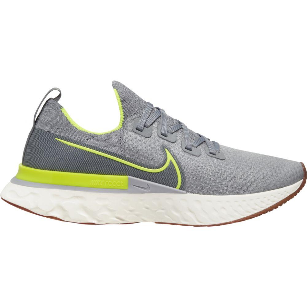 ナイキ Nike メンズ ランニング・ウォーキング シューズ・靴【react infinity run flyknit】Particle Grey/Volt/Wolf Grey/Sail