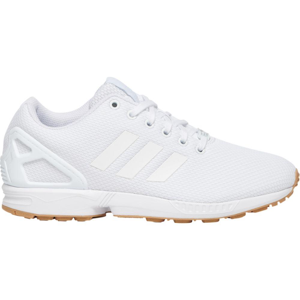 アディダス adidas Originals メンズ ランニング・ウォーキング シューズ・靴【zx flux】White/White/Gum