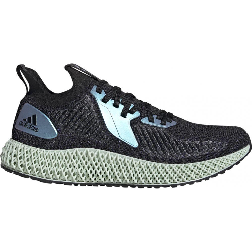 アディダス adidas メンズ ランニング・ウォーキング シューズ・靴【alphaedge 4d】Black/Glow Blue/Court Purple Goodbye Gravity:フェルマート