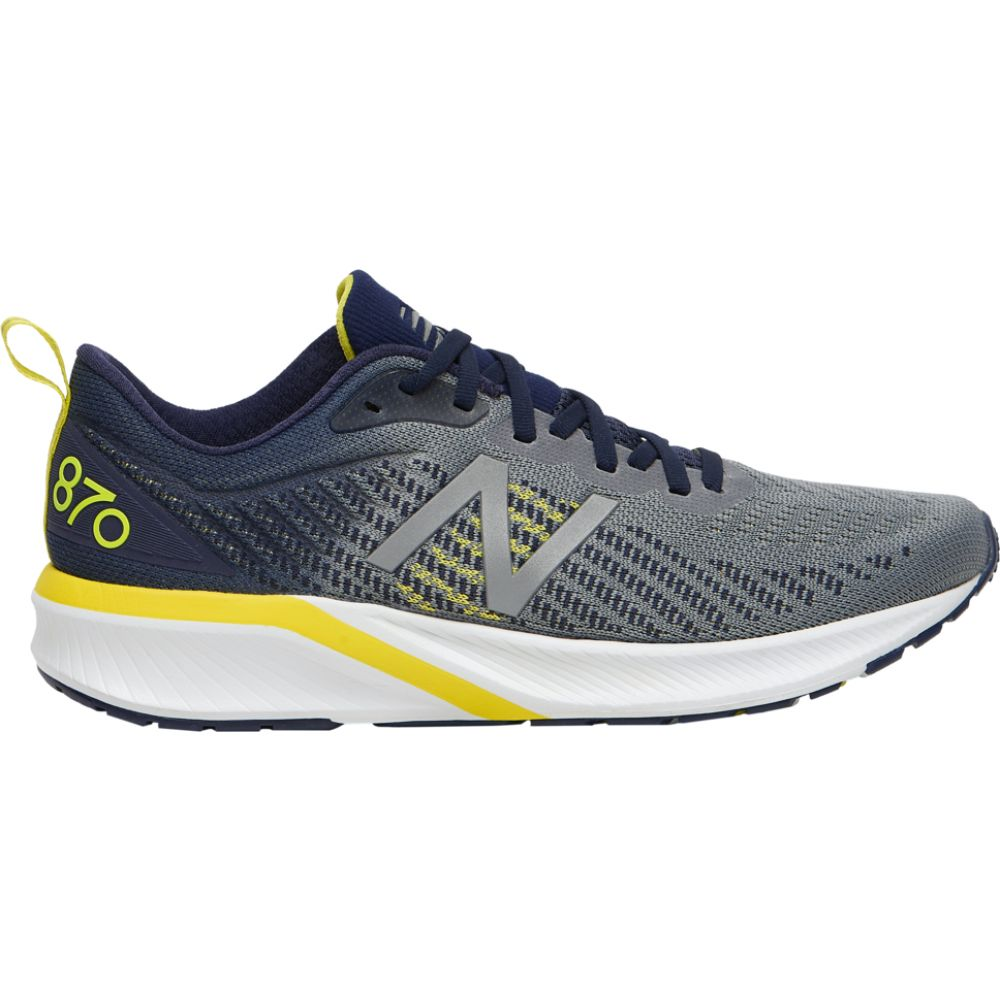 ニューバランス New Balance メンズ ランニング・ウォーキング シューズ・靴【870 v5】Gunmetal/Pigment/Sulphur Yellow