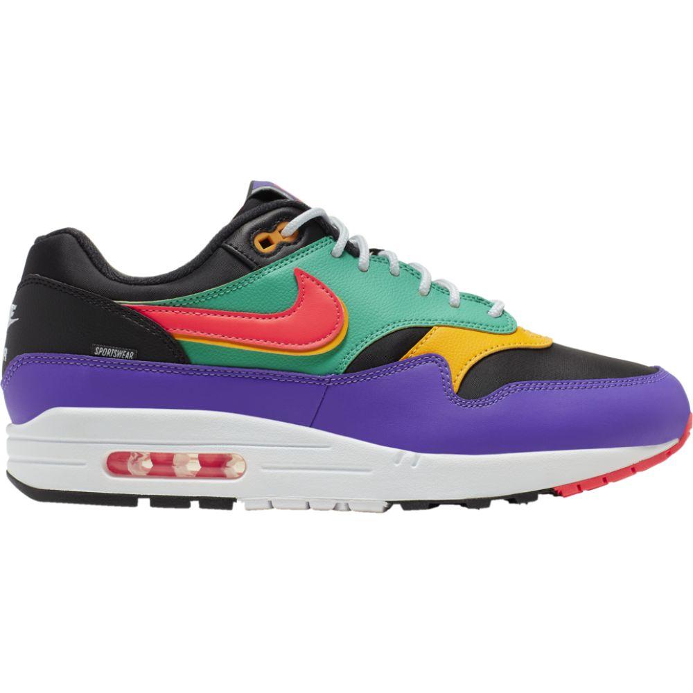 ナイキ Nike メンズ ランニング・ウォーキング シューズ・靴【air max 1】Black/Flash Crimson/Kinetic Green SE / Game Changer