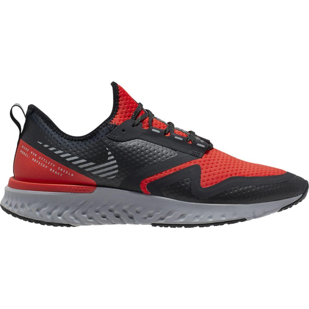 ナイキ Nike メンズ ランニング・ウォーキング シューズ・靴【odyssey react 2 shield】Habanero Red/Metallic Silver/Black/Thunder Grey