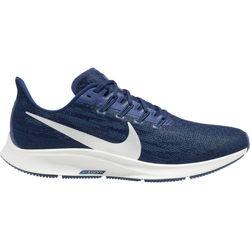 ナイキ Nike メンズ ランニング・ウォーキング エアズーム シューズ・靴【air zoom pegasus 36】Blue Void/Metallic Silver/Coastal Blue/Black
