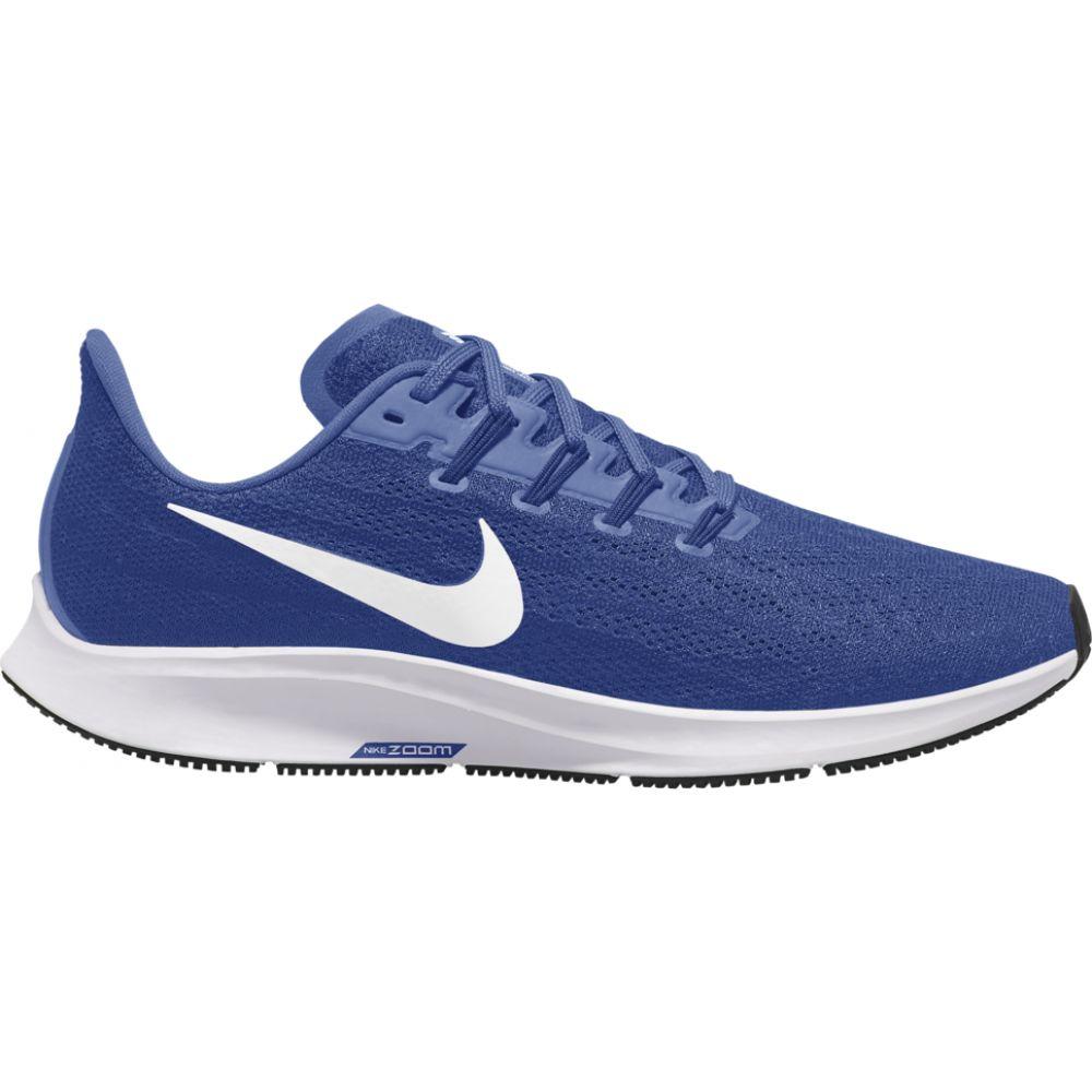 ナイキ Nike メンズ ランニング・ウォーキング エアズーム シューズ・靴【air zoom pegasus 36】Game Royal/White/Deep Royal Blue/Black