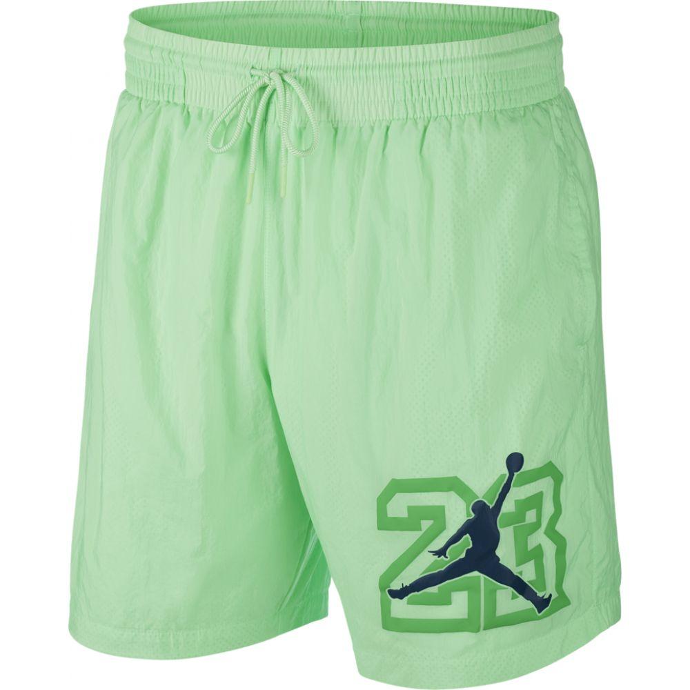 ナイキ ジョーダン Jordan メンズ 海パン ショートパンツ 水着・ビーチウェア【retro 13 legacy poolside shorts】Illusion Green
