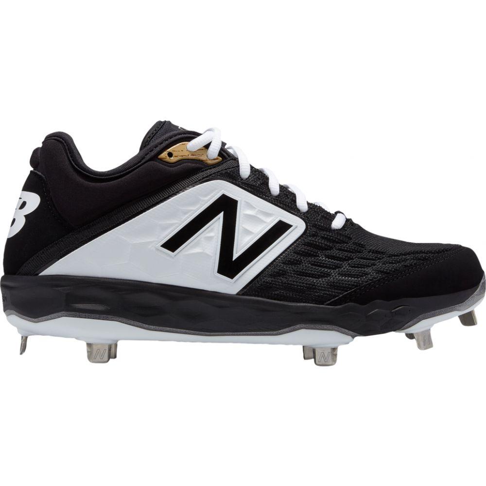 ニューバランス New Balance メンズ 野球 シューズ・靴【3000v4 metal low】Black/White