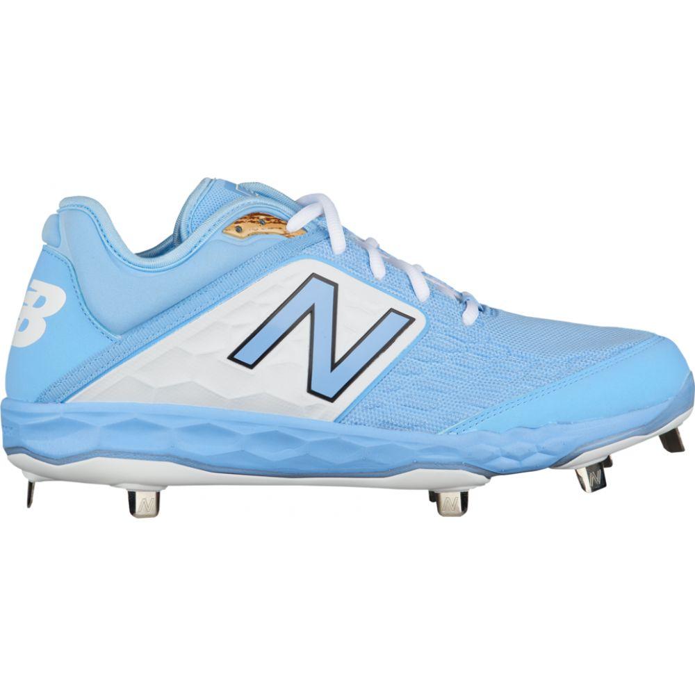 ニューバランス New Balance メンズ 野球 シューズ・靴【3000v4 metal low】Carolina Blue/White