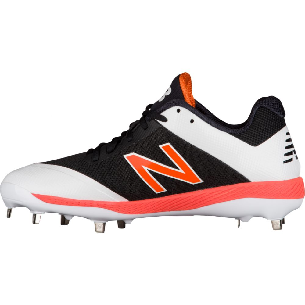 ニューバランス New Balance メンズ 野球 シューズ・靴【4040v4 metal low】Black/Orange