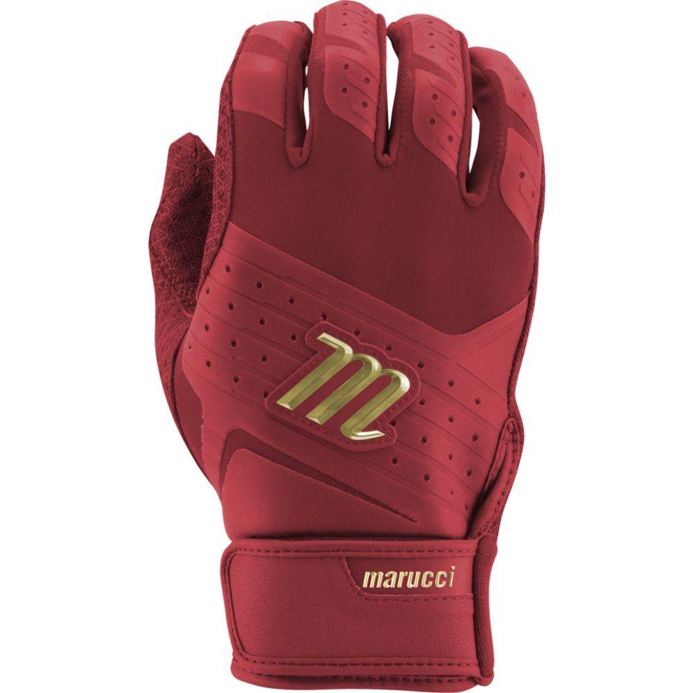 マルッチ Marucci メンズ 野球 バッティンググローブ グローブ【pittards reserve batting gloves】Red