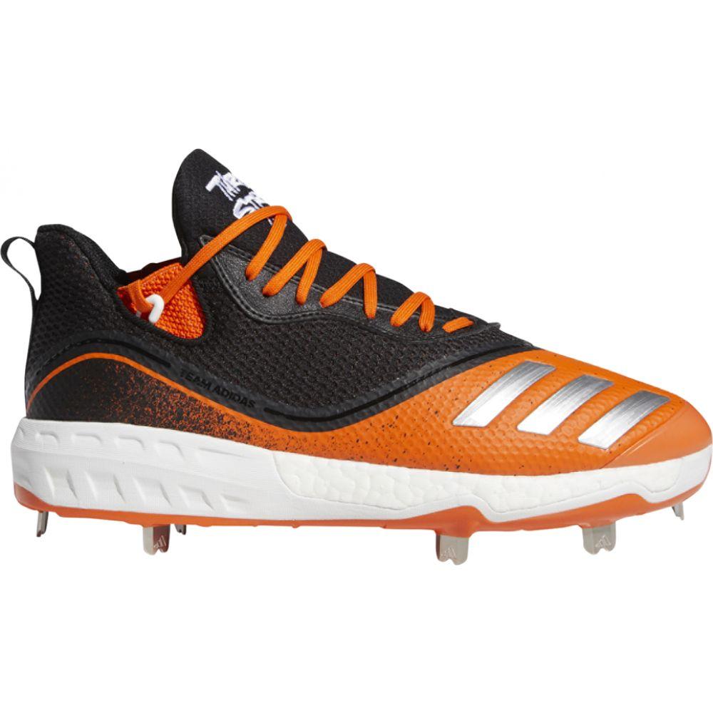 アディダス adidas メンズ 野球 シューズ・靴【icon v boost】Black/White/Orange