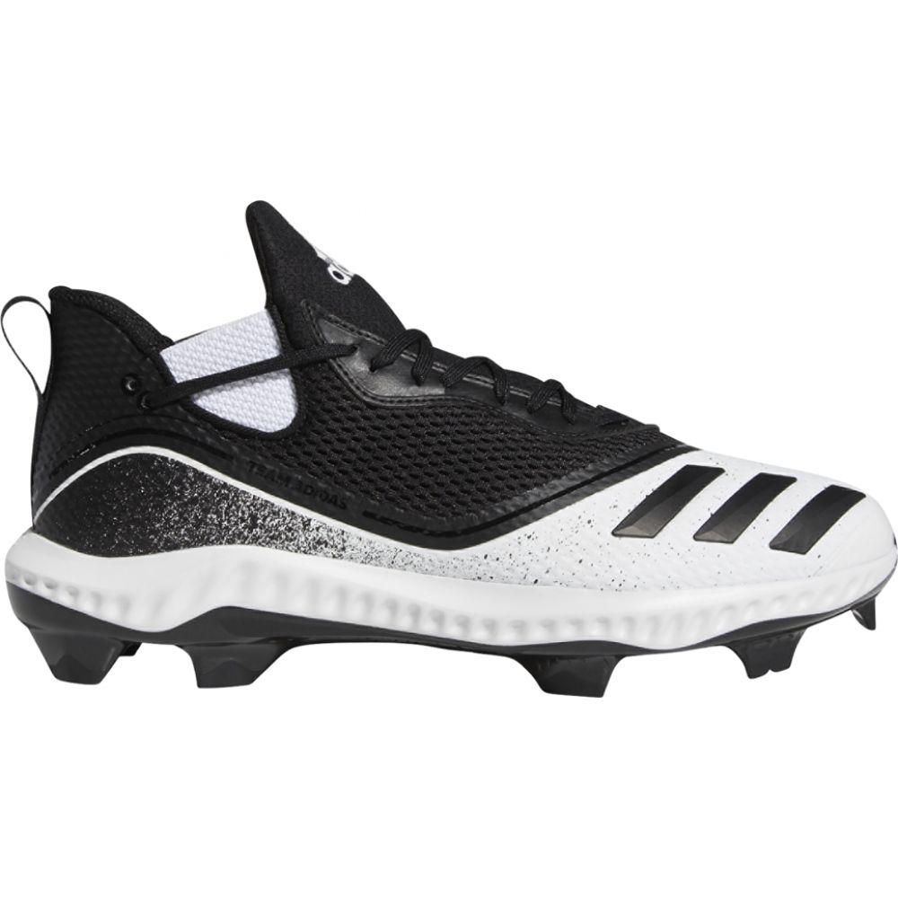 アディダス adidas メンズ 野球 シューズ・靴【icon v bounce tpu】Black/White/Silver Metallic