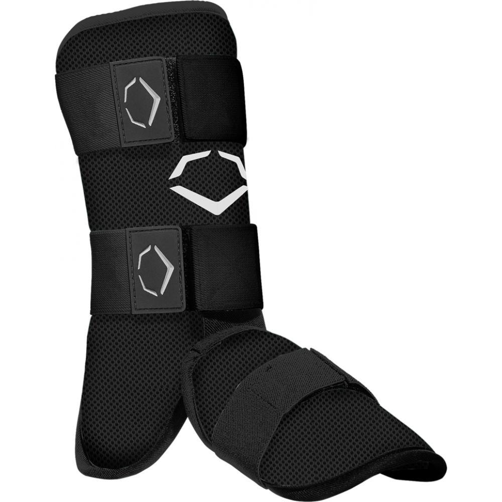 エボシールド Evoshield メンズ 野球 レガーズ プロテクター【srz-1 batter's leg guard】Black