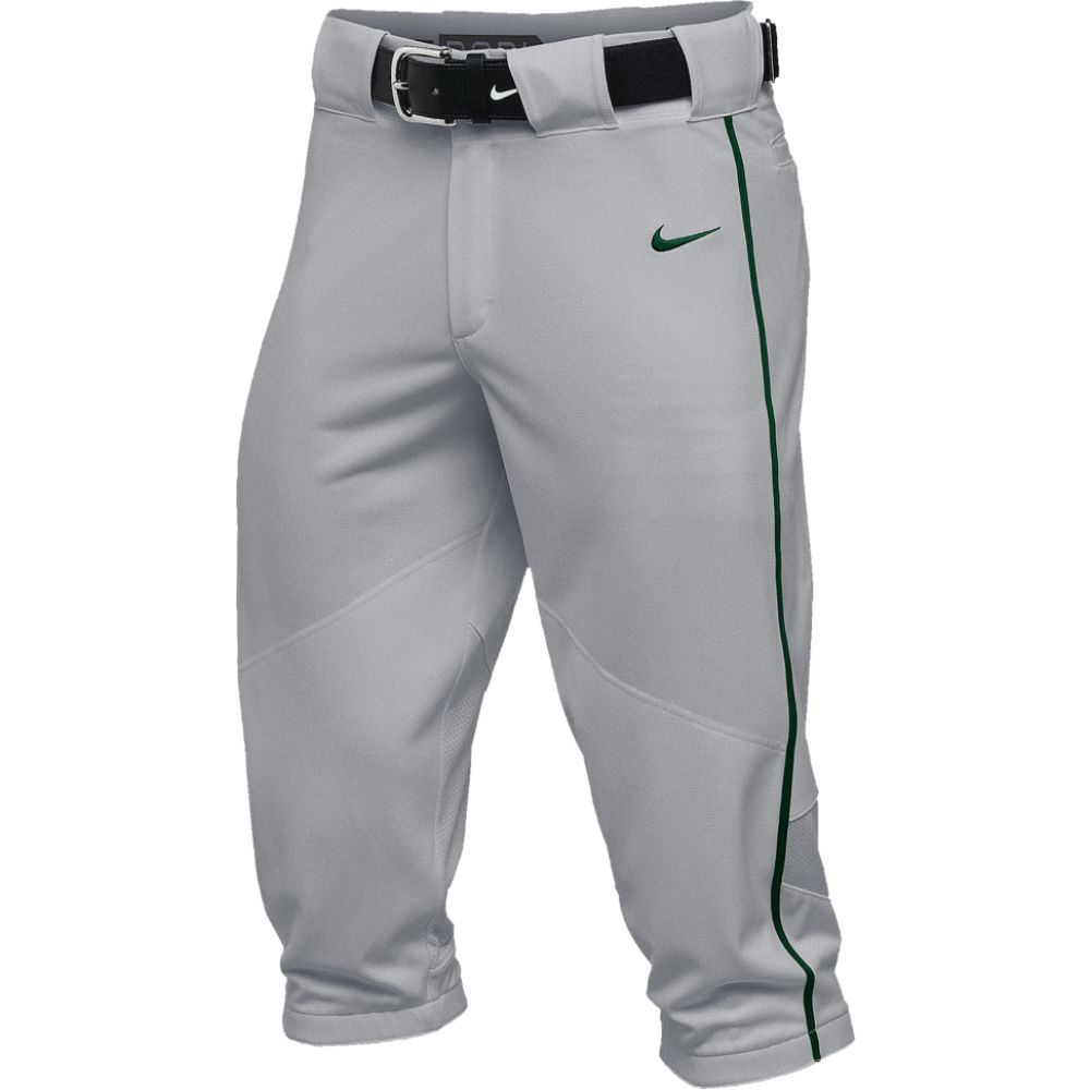 ナイキ Nike メンズ 野球 ボトムス・パンツ【team vapor pro piped high pants】Blue Grey/Dark Green/Dark Green