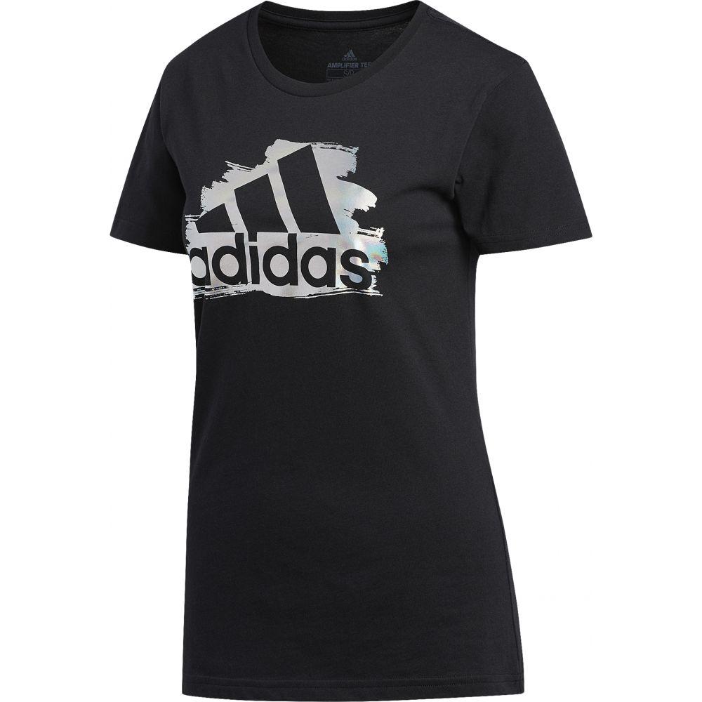 アディダス adidas Athletics レディース Tシャツ トップス【i see u short sleeve t-shirt】Black