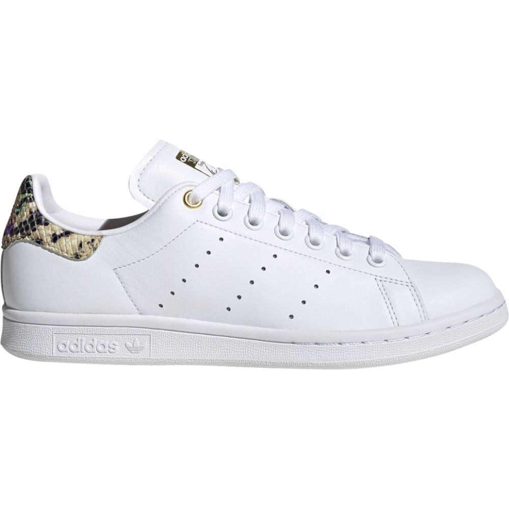 アディダス adidas Originals レディース スニーカー シューズ・靴【stan smith】White/Scarlet/Gold Metallic Snakeskin