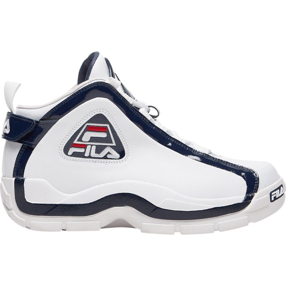 フィラ Fila メンズ フィットネス・トレーニング シューズ・靴【grant hill 96 mid】White/Navy/Red