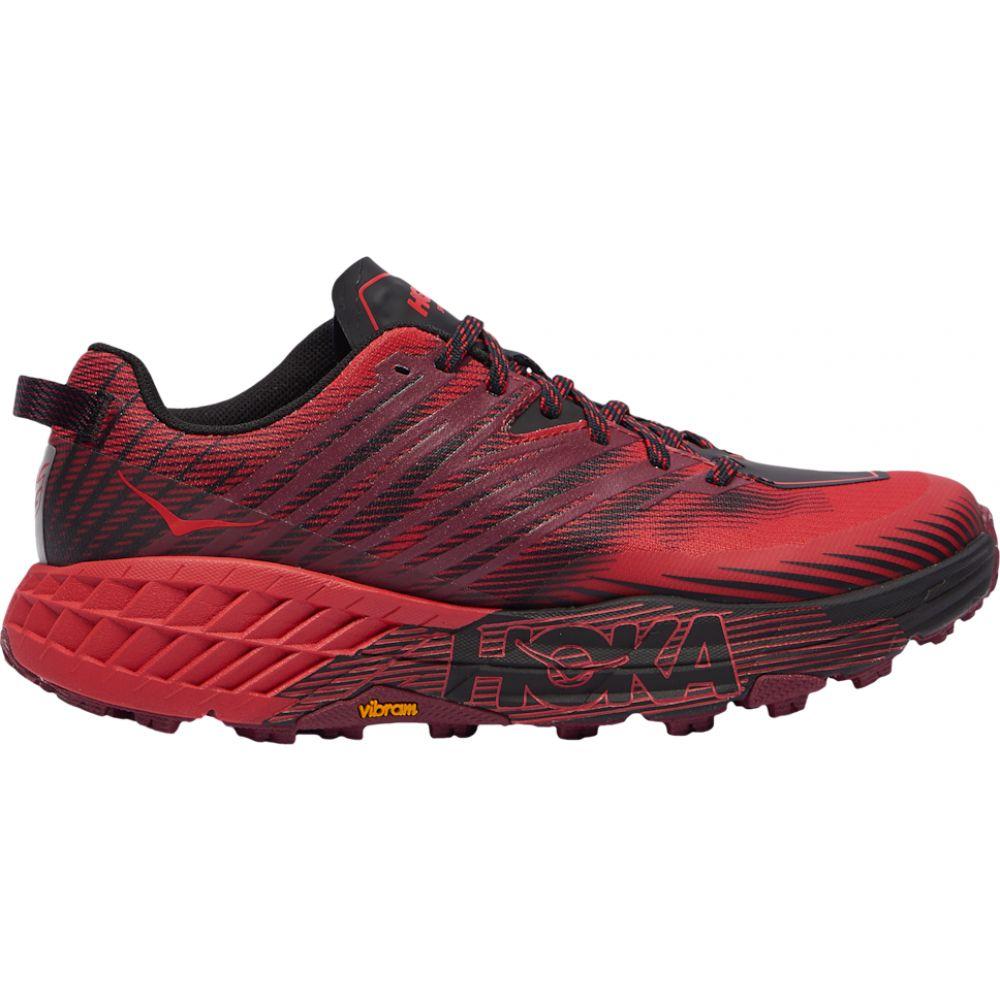 ホカ オネオネ HOKA ONE ONE メンズ ランニング・ウォーキング シューズ・靴【speedgoat 4】Cordovan/High Risk Red