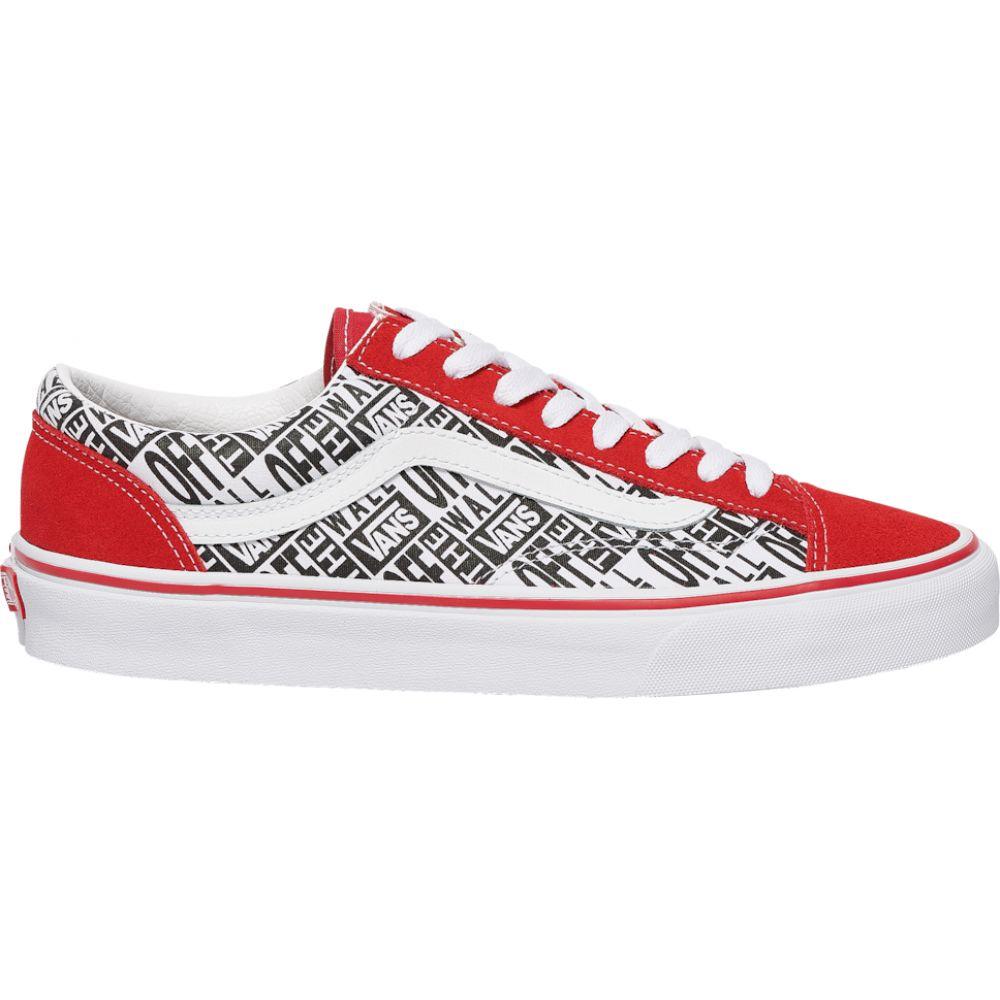 ヴァンズ Vans メンズ スケートボード シューズ・靴【style 36】Red/White/Black RR