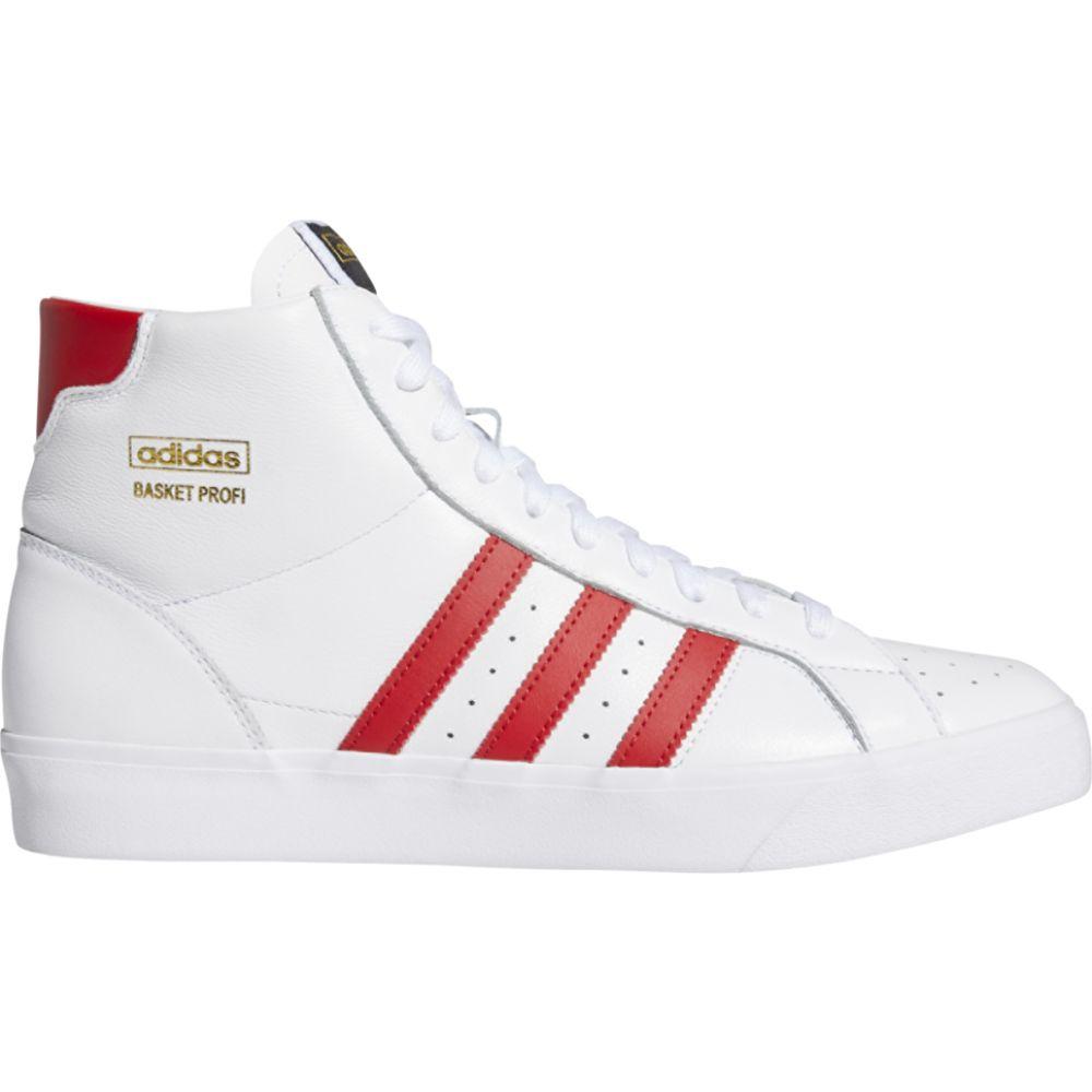 アディダス adidas Originals メンズ バスケットボール シューズ・靴【basket profi】White/Scarlet/Gold