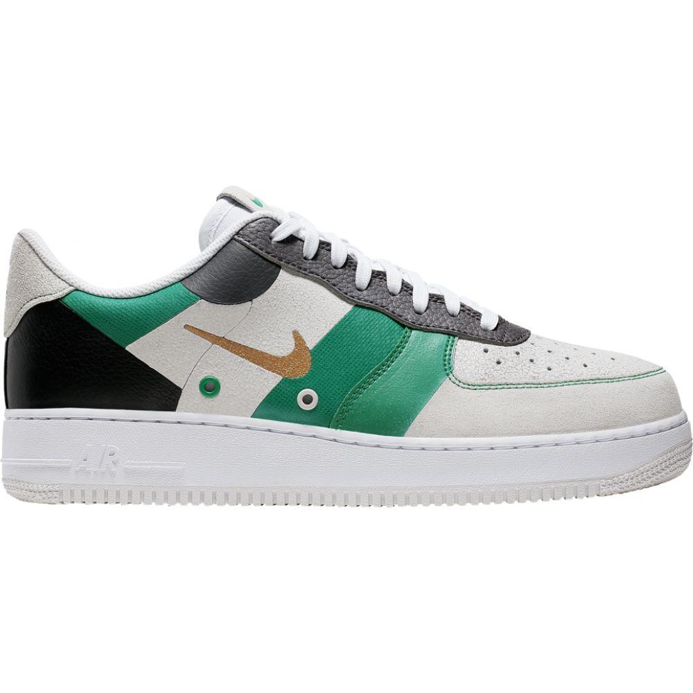 ナイキ Nike メンズ バスケットボール エアフォースワン シューズ・靴【air force 1 low】White/Metallic Gold/Black Premium