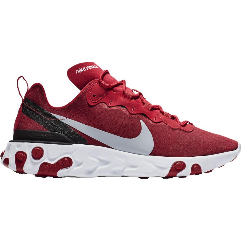 ナイキ Nike メンズ ランニング・ウォーキング シューズ・靴【react element 55】Gym Red/Wolf Grey/White