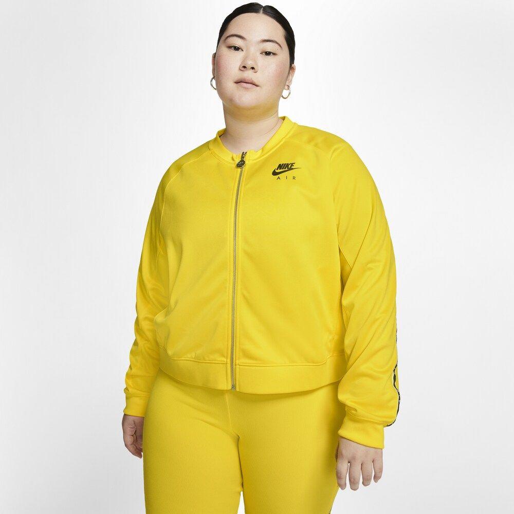 ナイキ Nike レディース ジャケット 大きいサイズ アウター【plus size air jacket pk】Optic Yellow