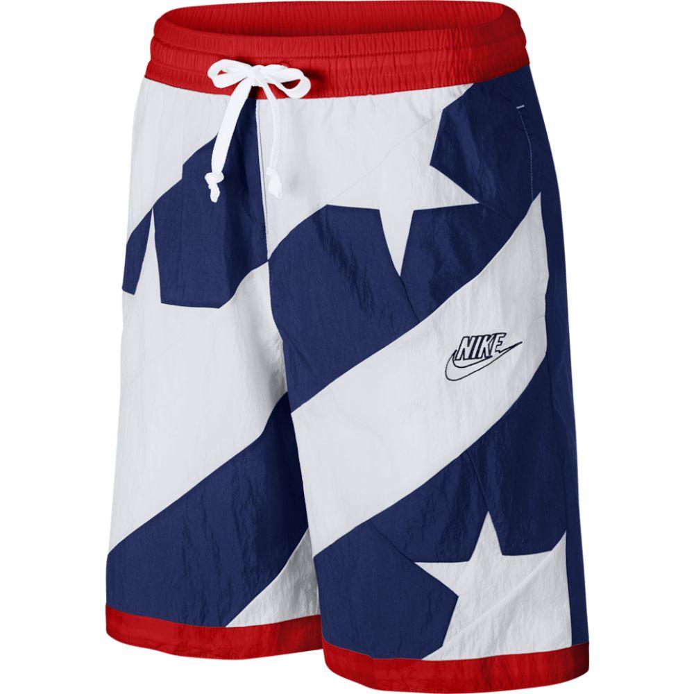 ナイキ Nike メンズ バスケットボール ショートパンツ ボトムス・パンツ【throwback stars shorts】Blue Void/University Red/White