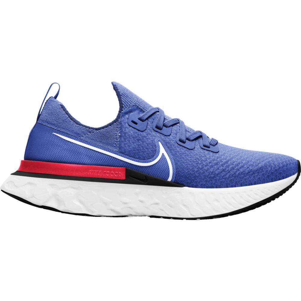 ナイキ Nike メンズ ランニング・ウォーキング シューズ・靴【react infinity run flyknit】Racer Blue/White/Bright Crimson/Black