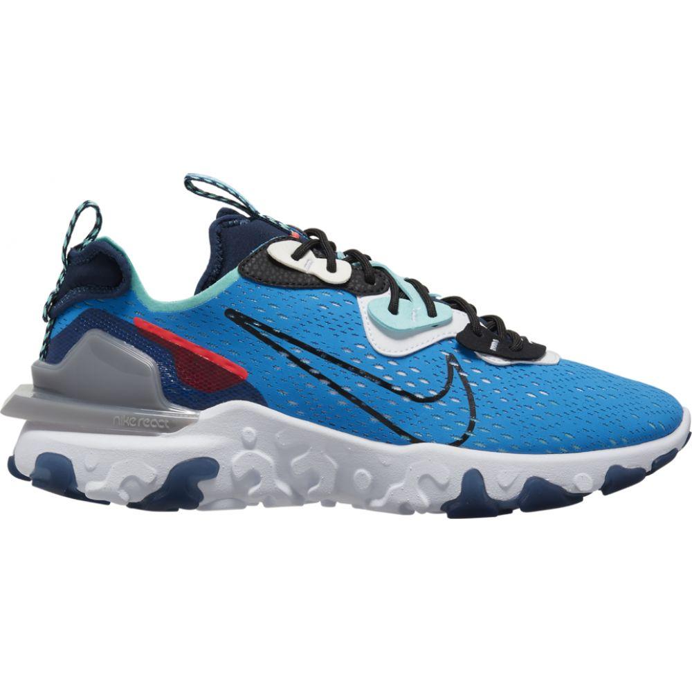 ナイキ Nike メンズ ランニング・ウォーキング シューズ・靴【react vision】Photo Blue/Black/Midnight Navy