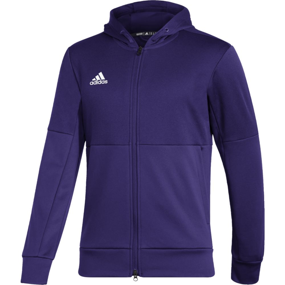 アディダス adidas メンズ ジャケット アウター【team issue full zip jacket】College Purple/White