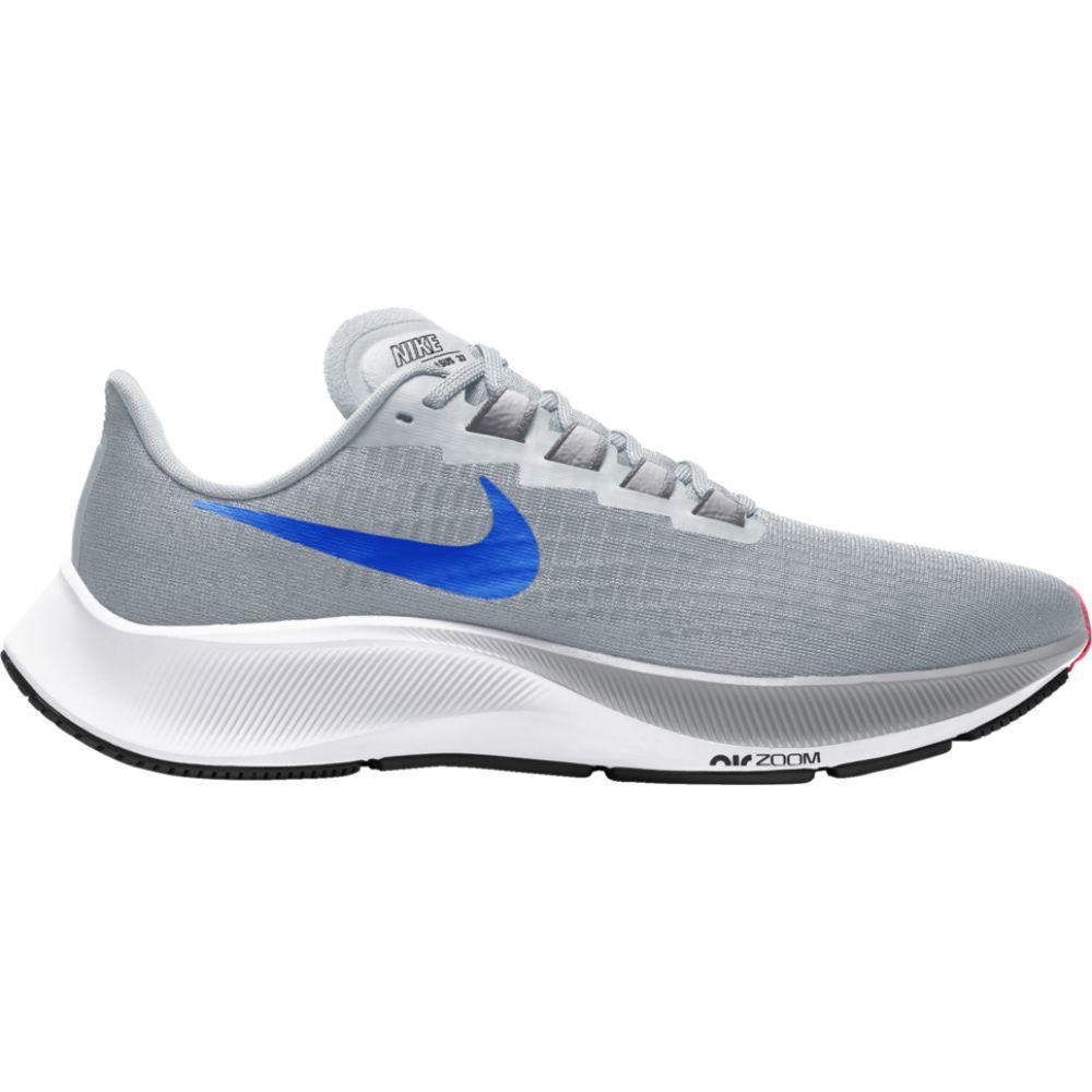 ナイキ Nike メンズ ランニング・ウォーキング エアズーム シューズ・靴【air zoom pegasus 37】Pure Platinum/Racer Blue/Wolf Grey
