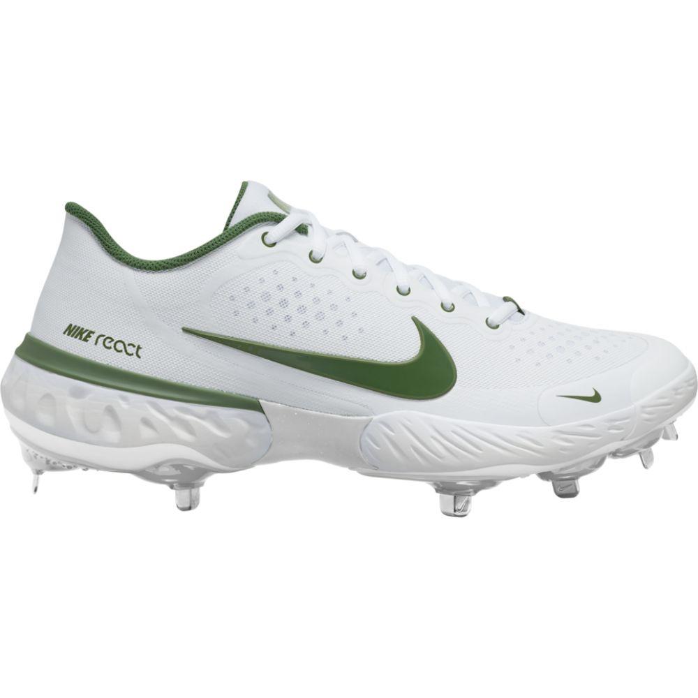 ナイキ Nike メンズ 野球 シューズ・靴【alpha huarache elite 3 low】White/Forest Green/White