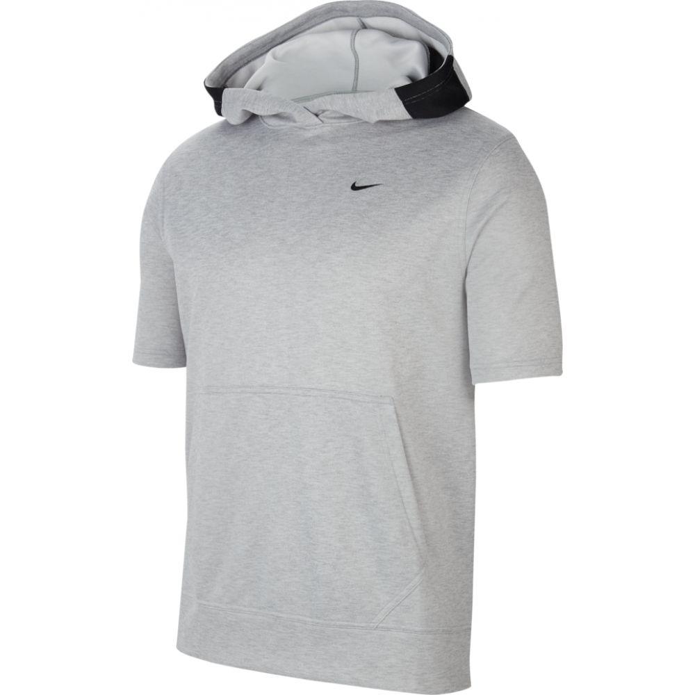 ナイキ Nike メンズ バスケットボール トップス【spotlight short sleeve hoodie】Light Smoke/Grey Heather