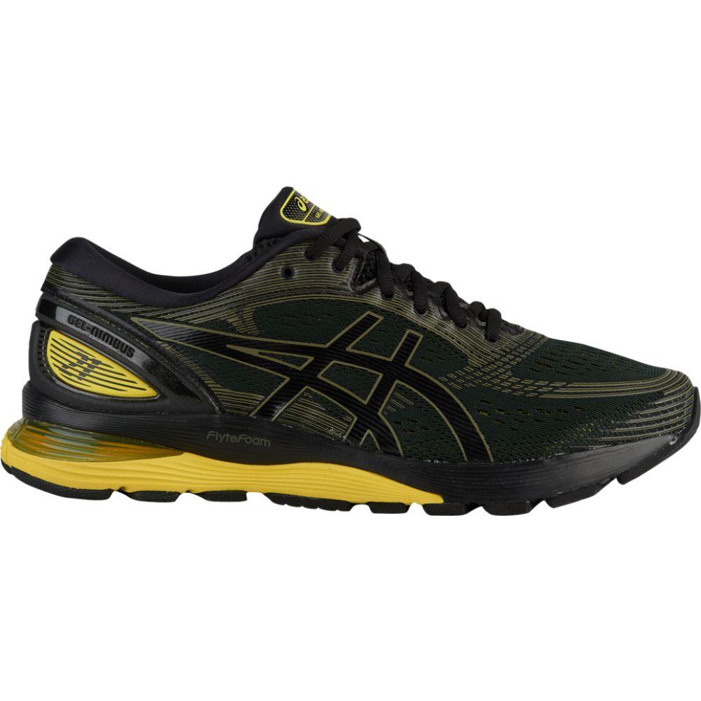 アシックス ASICS メンズ ランニング・ウォーキング シューズ・靴【gel-nimbus 21】Black/Neon Spark