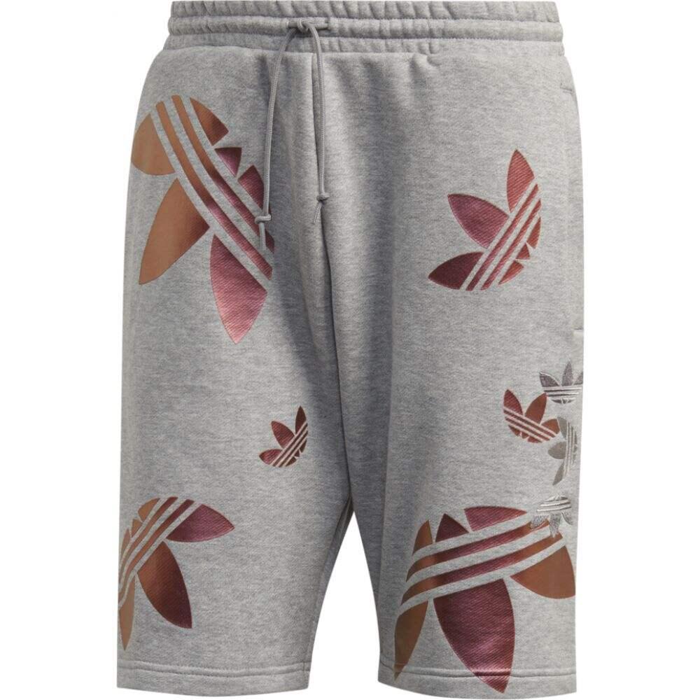 カウくる アディダス adidas Originals メンズ ショートパンツ ボトムス・パンツ【xeno shorts】Medium Grey Heather/Scarlet, Familie-Plus ee317e1e