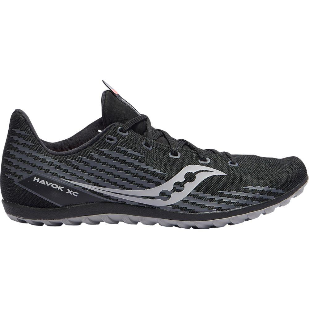 サッカニー 低価格化 メンズ 陸上 シューズ 靴 Black havok 春の新作 flat サイズ交換無料 Saucony xc3