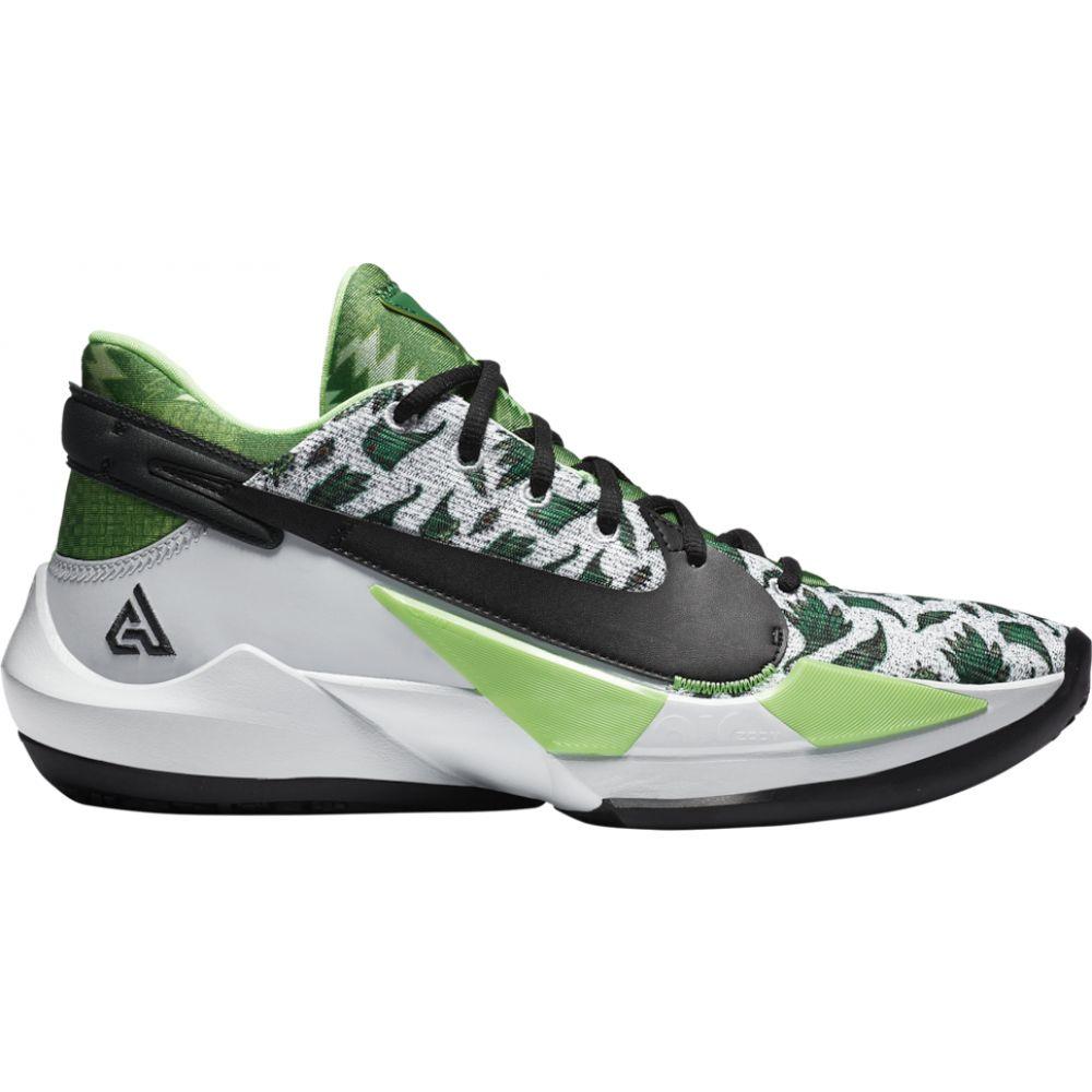 ナイキ Nike メンズ バスケットボール シューズ・靴【zoom freak 2】Green/White/Silver