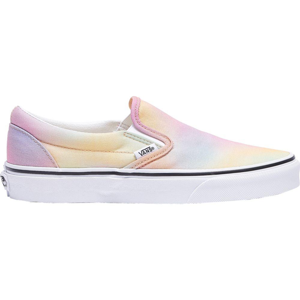 ヴァンズ Vans レディース スケートボード スリッポン シューズ・靴【classic slip on】Multi/True White Aura Shift