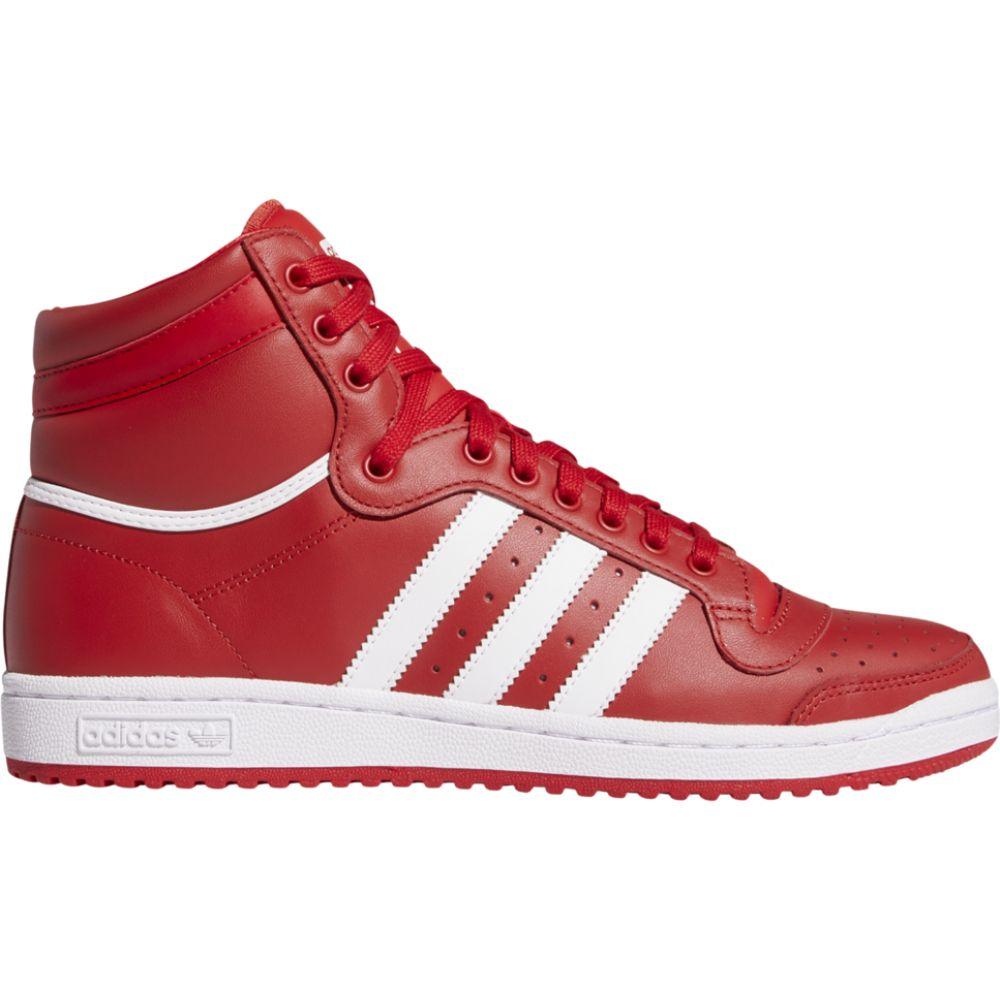 アディダス adidas Originals メンズ バスケットボール シューズ・靴【top ten hi】Scarlet/White/Scarlet