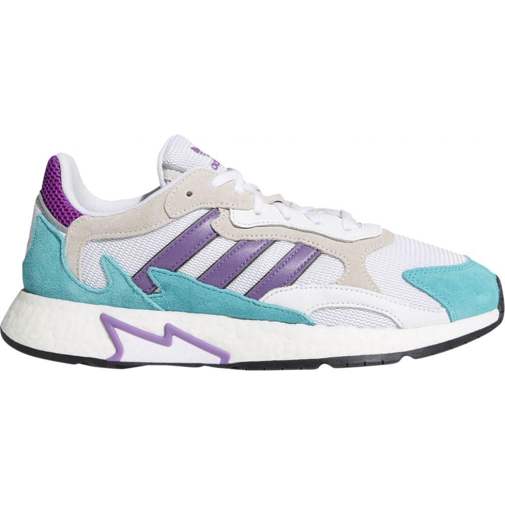 アディダス adidas Originals メンズ ランニング・ウォーキング シューズ・靴【tresc run】White/Active Purple/Hi Res Aqua